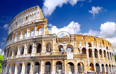 Постер Рим Колизей, всемирно известной достопримечательностью в Риме.Рим<br>Постер на холсте или бумаге. Любого нужного вам размера. В раме или без. Подвес в комплекте. Трехслойная надежная упаковка. Доставим в любую точку России. Вам осталось только повесить картину на стену!<br>