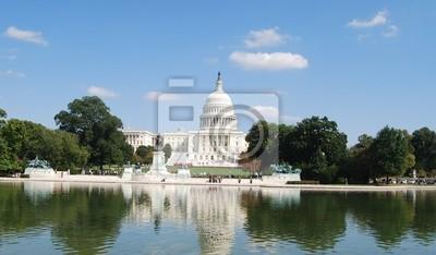 Постер Города и карты Вашингтон, Капитолий, США, 34x20 см, на бумагеВашингтон<br>Постер на холсте или бумаге. Любого нужного вам размера. В раме или без. Подвес в комплекте. Трехслойная надежная упаковка. Доставим в любую точку России. Вам осталось только повесить картину на стену!<br>