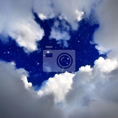 Постер Космос - разные постеры Звезды в ночном небе.Космос - разные постеры<br>Постер на холсте или бумаге. Любого нужного вам размера. В раме или без. Подвес в комплекте. Трехслойная надежная упаковка. Доставим в любую точку России. Вам осталось только повесить картину на стену!<br>