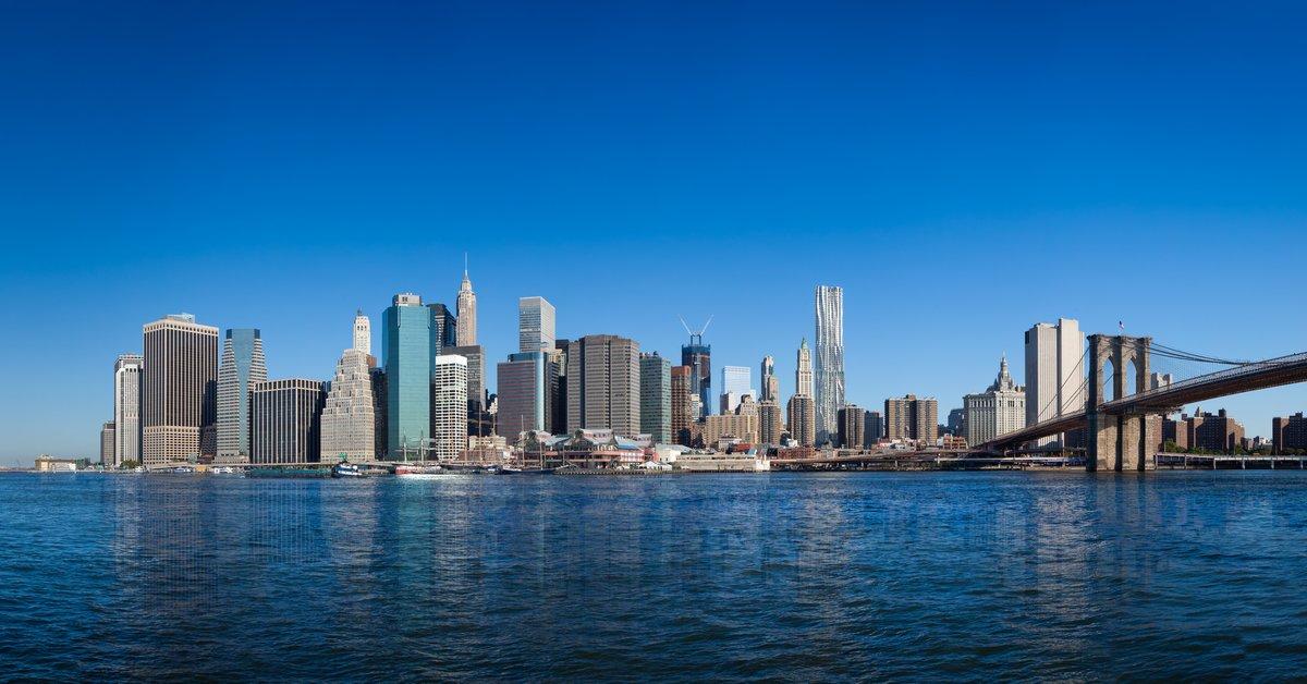 Постер Нью-Йорк Нью-Йорк, Manhattan pont de БруклинНью-Йорк<br>Постер на холсте или бумаге. Любого нужного вам размера. В раме или без. Подвес в комплекте. Трехслойная надежная упаковка. Доставим в любую точку России. Вам осталось только повесить картину на стену!<br>