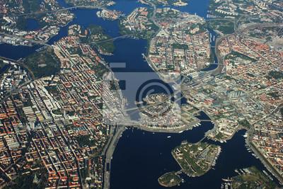 Постер Стокгольм Ареала вид на Стокгольм, ШвецияСтокгольм<br>Постер на холсте или бумаге. Любого нужного вам размера. В раме или без. Подвес в комплекте. Трехслойная надежная упаковка. Доставим в любую точку России. Вам осталось только повесить картину на стену!<br>