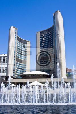 Постер Торонто Toronto City HallТоронто<br>Постер на холсте или бумаге. Любого нужного вам размера. В раме или без. Подвес в комплекте. Трехслойная надежная упаковка. Доставим в любую точку России. Вам осталось только повесить картину на стену!<br>