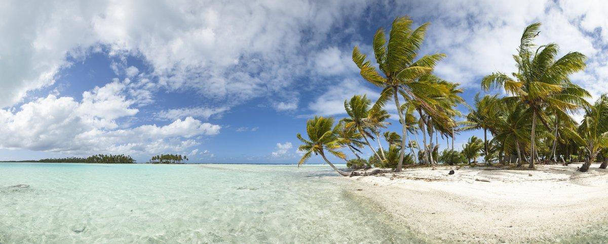 Постер Гавайи Paradise beach панорамный видГавайи<br>Постер на холсте или бумаге. Любого нужного вам размера. В раме или без. Подвес в комплекте. Трехслойная надежная упаковка. Доставим в любую точку России. Вам осталось только повесить картину на стену!<br>