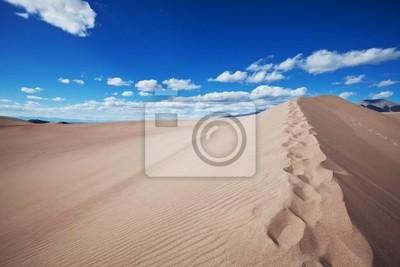 Постер Пейзаж песчаный ДюнаПейзаж песчаный<br>Постер на холсте или бумаге. Любого нужного вам размера. В раме или без. Подвес в комплекте. Трехслойная надежная упаковка. Доставим в любую точку России. Вам осталось только повесить картину на стену!<br>