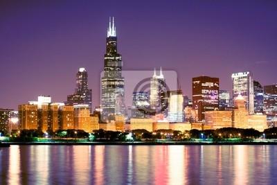 Постер Чикаго Центр городаЧикаго<br>Постер на холсте или бумаге. Любого нужного вам размера. В раме или без. Подвес в комплекте. Трехслойная надежная упаковка. Доставим в любую точку России. Вам осталось только повесить картину на стену!<br>