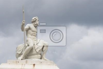 Постер Города и карты Нептун Статуя в Копенгаген, 30x20 см, на бумагеКопенгаген<br>Постер на холсте или бумаге. Любого нужного вам размера. В раме или без. Подвес в комплекте. Трехслойная надежная упаковка. Доставим в любую точку России. Вам осталось только повесить картину на стену!<br>