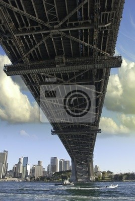 Постер Сидней Мост в Гавани СиднеяСидней<br>Постер на холсте или бумаге. Любого нужного вам размера. В раме или без. Подвес в комплекте. Трехслойная надежная упаковка. Доставим в любую точку России. Вам осталось только повесить картину на стену!<br>