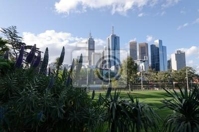 Постер Мельбурн Мельбурн видом на городМельбурн<br>Постер на холсте или бумаге. Любого нужного вам размера. В раме или без. Подвес в комплекте. Трехслойная надежная упаковка. Доставим в любую точку России. Вам осталось только повесить картину на стену!<br>