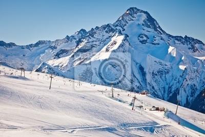 Постер Горные лыжи Лыжные трассы в АльпахГорные лыжи<br>Постер на холсте или бумаге. Любого нужного вам размера. В раме или без. Подвес в комплекте. Трехслойная надежная упаковка. Доставим в любую точку России. Вам осталось только повесить картину на стену!<br>
