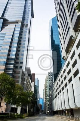 Постер Сингапур Центральной улицей городаСингапур<br>Постер на холсте или бумаге. Любого нужного вам размера. В раме или без. Подвес в комплекте. Трехслойная надежная упаковка. Доставим в любую точку России. Вам осталось только повесить картину на стену!<br>