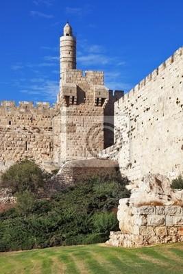 Постер Иерусалим Древние стены и Башня ДавидаИерусалим<br>Постер на холсте или бумаге. Любого нужного вам размера. В раме или без. Подвес в комплекте. Трехслойная надежная упаковка. Доставим в любую точку России. Вам осталось только повесить картину на стену!<br>