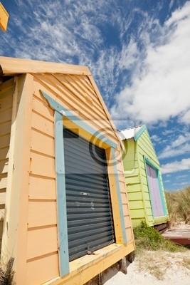 Красочные beach house, 20x30 см, на бумагеМельбурн<br>Постер на холсте или бумаге. Любого нужного вам размера. В раме или без. Подвес в комплекте. Трехслойная надежная упаковка. Доставим в любую точку России. Вам осталось только повесить картину на стену!<br>