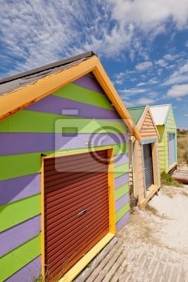 Постер Города и карты Красочные beach house, 20x30 см, на бумагеМельбурн<br>Постер на холсте или бумаге. Любого нужного вам размера. В раме или без. Подвес в комплекте. Трехслойная надежная упаковка. Доставим в любую точку России. Вам осталось только повесить картину на стену!<br>