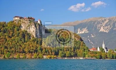 Постер Словения Am Bleder Увидеть в берлоге Julischen Alpen в SlowenienСловения<br>Постер на холсте или бумаге. Любого нужного вам размера. В раме или без. Подвес в комплекте. Трехслойная надежная упаковка. Доставим в любую точку России. Вам осталось только повесить картину на стену!<br>