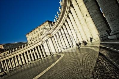 Постер Ватикан Colonnato del БерниниВатикан<br>Постер на холсте или бумаге. Любого нужного вам размера. В раме или без. Подвес в комплекте. Трехслойная надежная упаковка. Доставим в любую точку России. Вам осталось только повесить картину на стену!<br>