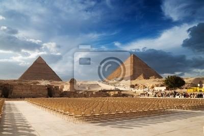 Постер Египет ПирамидыЕгипет<br>Постер на холсте или бумаге. Любого нужного вам размера. В раме или без. Подвес в комплекте. Трехслойная надежная упаковка. Доставим в любую точку России. Вам осталось только повесить картину на стену!<br>