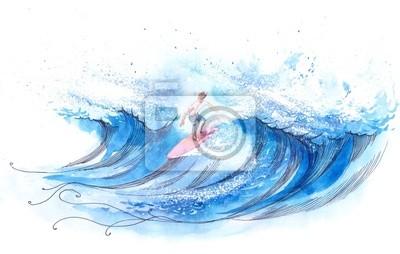 Пейзаж современный морской СерферПейзаж современный морской<br>Репродукция на холсте или бумаге. Любого нужного вам размера. В раме или без. Подвес в комплекте. Трехслойная надежная упаковка. Доставим в любую точку России. Вам осталось только повесить картину на стену!<br>