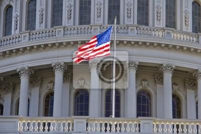 Постер Вашингтон НАМ Капитолий, ВашингтонВашингтон<br>Постер на холсте или бумаге. Любого нужного вам размера. В раме или без. Подвес в комплекте. Трехслойная надежная упаковка. Доставим в любую точку России. Вам осталось только повесить картину на стену!<br>