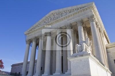 Постер Вашингтон Верховный Суд США в Вашингтоне, округ Колумбия.Вашингтон<br>Постер на холсте или бумаге. Любого нужного вам размера. В раме или без. Подвес в комплекте. Трехслойная надежная упаковка. Доставим в любую точку России. Вам осталось только повесить картину на стену!<br>