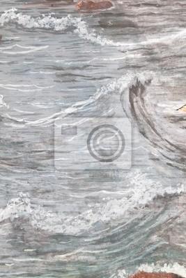 Пейзаж современный морской Textureof Тайский стиль живописи на стене храма,Бангкок,сиамскийПейзаж современный морской<br>Репродукция на холсте или бумаге. Любого нужного вам размера. В раме или без. Подвес в комплекте. Трехслойная надежная упаковка. Доставим в любую точку России. Вам осталось только повесить картину на стену!<br>