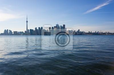 Постер Города и карты Торонто skyline, 30x20 см, на бумагеТоронто<br>Постер на холсте или бумаге. Любого нужного вам размера. В раме или без. Подвес в комплекте. Трехслойная надежная упаковка. Доставим в любую точку России. Вам осталось только повесить картину на стену!<br>