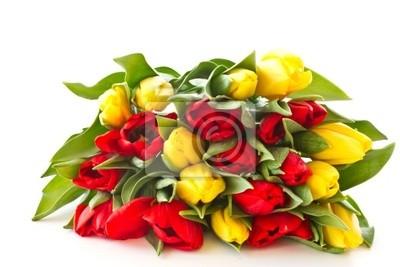 Постер Тюльпаны Красный и желтый тюльпан цветыТюльпаны<br>Постер на холсте или бумаге. Любого нужного вам размера. В раме или без. Подвес в комплекте. Трехслойная надежная упаковка. Доставим в любую точку России. Вам осталось только повесить картину на стену!<br>