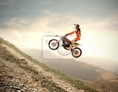 Постер Мотокросс