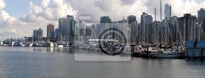 Постер Ванкувер Город ВанкуверВанкувер<br>Постер на холсте или бумаге. Любого нужного вам размера. В раме или без. Подвес в комплекте. Трехслойная надежная упаковка. Доставим в любую точку России. Вам осталось только повесить картину на стену!<br>