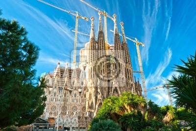 La Sagrada Familia, Барселона, Испания., 30x20 см, на бумагеБарселона<br>Постер на холсте или бумаге. Любого нужного вам размера. В раме или без. Подвес в комплекте. Трехслойная надежная упаковка. Доставим в любую точку России. Вам осталось только повесить картину на стену!<br>