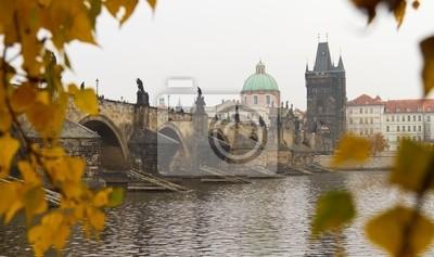 Постер Прага Карлов Мост, Прага, Чешская РеспубликаПрага<br>Постер на холсте или бумаге. Любого нужного вам размера. В раме или без. Подвес в комплекте. Трехслойная надежная упаковка. Доставим в любую точку России. Вам осталось только повесить картину на стену!<br>