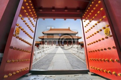 Постер Пекин Запретный город в Пекине , КитайПекин<br>Постер на холсте или бумаге. Любого нужного вам размера. В раме или без. Подвес в комплекте. Трехслойная надежная упаковка. Доставим в любую точку России. Вам осталось только повесить картину на стену!<br>