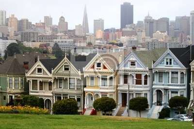 Постер Сан-Франциско Аламо Square, Сан-Франциско..Сан-Франциско<br>Постер на холсте или бумаге. Любого нужного вам размера. В раме или без. Подвес в комплекте. Трехслойная надежная упаковка. Доставим в любую точку России. Вам осталось только повесить картину на стену!<br>