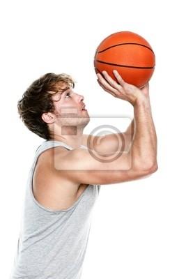 Баскетболист, 20x30 см, на бумагеБаскетбол<br>Постер на холсте или бумаге. Любого нужного вам размера. В раме или без. Подвес в комплекте. Трехслойная надежная упаковка. Доставим в любую точку России. Вам осталось только повесить картину на стену!<br>