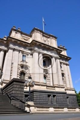 Постер Мельбурн Здание Парламента Мельбурн, АвстралияМельбурн<br>Постер на холсте или бумаге. Любого нужного вам размера. В раме или без. Подвес в комплекте. Трехслойная надежная упаковка. Доставим в любую точку России. Вам осталось только повесить картину на стену!<br>