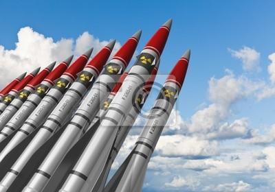 Постер Праздники Ядерные ракеты против голубого неба, 29x20 см, на бумаге09.04 День специалиста по ядерному обеспечению<br>Постер на холсте или бумаге. Любого нужного вам размера. В раме или без. Подвес в комплекте. Трехслойная надежная упаковка. Доставим в любую точку России. Вам осталось только повесить картину на стену!<br>