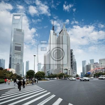 Постер Шанхай Века авеню в ШанхаеШанхай<br>Постер на холсте или бумаге. Любого нужного вам размера. В раме или без. Подвес в комплекте. Трехслойная надежная упаковка. Доставим в любую точку России. Вам осталось только повесить картину на стену!<br>