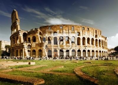 Колизей в Риме, Италия, 28x20 см, на бумагеРим<br>Постер на холсте или бумаге. Любого нужного вам размера. В раме или без. Подвес в комплекте. Трехслойная надежная упаковка. Доставим в любую точку России. Вам осталось только повесить картину на стену!<br>
