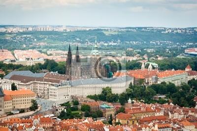 Постер Прага Вид с воздуха в Праге (Прага, Чехия)Прага<br>Постер на холсте или бумаге. Любого нужного вам размера. В раме или без. Подвес в комплекте. Трехслойная надежная упаковка. Доставим в любую точку России. Вам осталось только повесить картину на стену!<br>