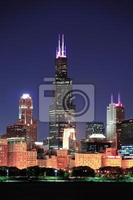 Постер Чикаго Чикаго Уиллис-ТауэрЧикаго<br>Постер на холсте или бумаге. Любого нужного вам размера. В раме или без. Подвес в комплекте. Трехслойная надежная упаковка. Доставим в любую точку России. Вам осталось только повесить картину на стену!<br>