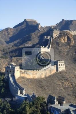 Постер Пекин Великая китайская Стена / Simatai - Jinshanling / Chinesische MauerПекин<br>Постер на холсте или бумаге. Любого нужного вам размера. В раме или без. Подвес в комплекте. Трехслойная надежная упаковка. Доставим в любую точку России. Вам осталось только повесить картину на стену!<br>