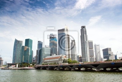 Постер Сингапур В Сингапуре SkylineСингапур<br>Постер на холсте или бумаге. Любого нужного вам размера. В раме или без. Подвес в комплекте. Трехслойная надежная упаковка. Доставим в любую точку России. Вам осталось только повесить картину на стену!<br>