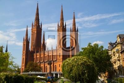 Постер Франкфурт Церковь во ФранкфуртеФранкфурт<br>Постер на холсте или бумаге. Любого нужного вам размера. В раме или без. Подвес в комплекте. Трехслойная надежная упаковка. Доставим в любую точку России. Вам осталось только повесить картину на стену!<br>