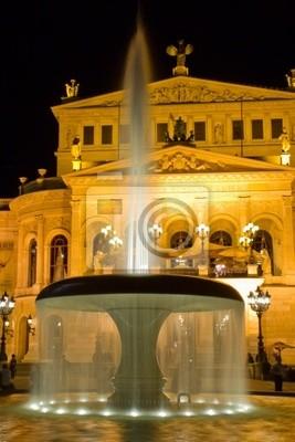 Постер Франкфурт Alte opera во ФранкфуртеФранкфурт<br>Постер на холсте или бумаге. Любого нужного вам размера. В раме или без. Подвес в комплекте. Трехслойная надежная упаковка. Доставим в любую точку России. Вам осталось только повесить картину на стену!<br>