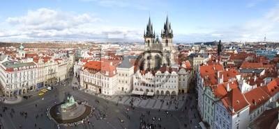 Постер Прага Прага, Old Town SquareПрага<br>Постер на холсте или бумаге. Любого нужного вам размера. В раме или без. Подвес в комплекте. Трехслойная надежная упаковка. Доставим в любую точку России. Вам осталось только повесить картину на стену!<br>