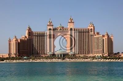 Постер Дубай Atlantis Hotel в Дубае, Объединенные Арабские ЭмиратыДубай<br>Постер на холсте или бумаге. Любого нужного вам размера. В раме или без. Подвес в комплекте. Трехслойная надежная упаковка. Доставим в любую точку России. Вам осталось только повесить картину на стену!<br>