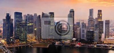 Постер Сингапур Сингапур на закатеСингапур<br>Постер на холсте или бумаге. Любого нужного вам размера. В раме или без. Подвес в комплекте. Трехслойная надежная упаковка. Доставим в любую точку России. Вам осталось только повесить картину на стену!<br>