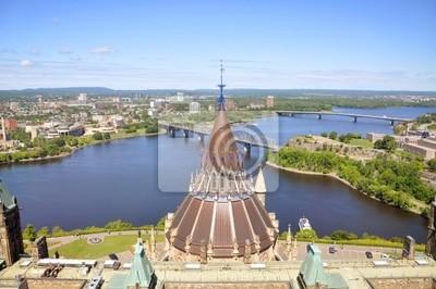 Постер Оттава Парламент Библиотека, Реки Оттавы, Оттава, Онтарио, КанадаОттава<br>Постер на холсте или бумаге. Любого нужного вам размера. В раме или без. Подвес в комплекте. Трехслойная надежная упаковка. Доставим в любую точку России. Вам осталось только повесить картину на стену!<br>