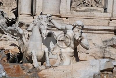 Постер Ватикан Кавалло Плачидо, Fontana di Trevi, РимВатикан<br>Постер на холсте или бумаге. Любого нужного вам размера. В раме или без. Подвес в комплекте. Трехслойная надежная упаковка. Доставим в любую точку России. Вам осталось только повесить картину на стену!<br>