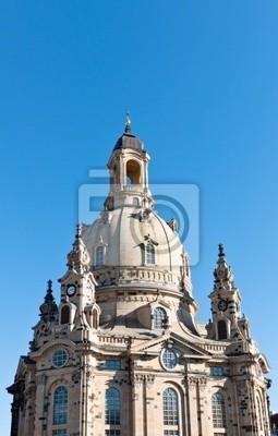Постер Дрезден Купол Фрауенкирхе в Дрездене, ГерманияДрезден<br>Постер на холсте или бумаге. Любого нужного вам размера. В раме или без. Подвес в комплекте. Трехслойная надежная упаковка. Доставим в любую точку России. Вам осталось только повесить картину на стену!<br>