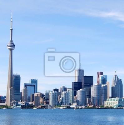 Постер Торонто Downtown Toronto Горизонта, КанадаТоронто<br>Постер на холсте или бумаге. Любого нужного вам размера. В раме или без. Подвес в комплекте. Трехслойная надежная упаковка. Доставим в любую точку России. Вам осталось только повесить картину на стену!<br>